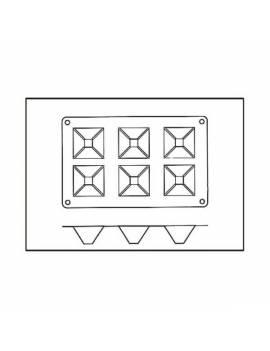 """Douilles à décor """"choix du pâtissier"""" (x24)"""