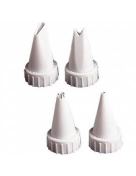 Kit 4 douilles tube glace royale
