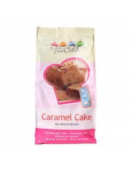 Préparation pour cake au caramel
