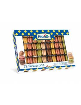 """Macarons surgelés """" Classique""""- 72 pièces"""