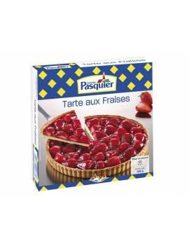Tarte surgelée aux fraises