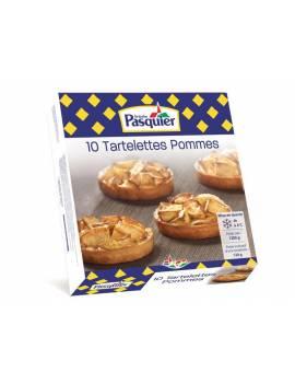 Tartelettes individuelles surgelées aux pommes
