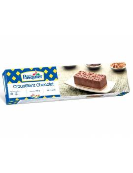 Entremet en bande surgelé - croustillant chocolat