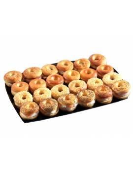 """Plateau surgelé """"mini-bagels briochés """" - 24 pièces"""