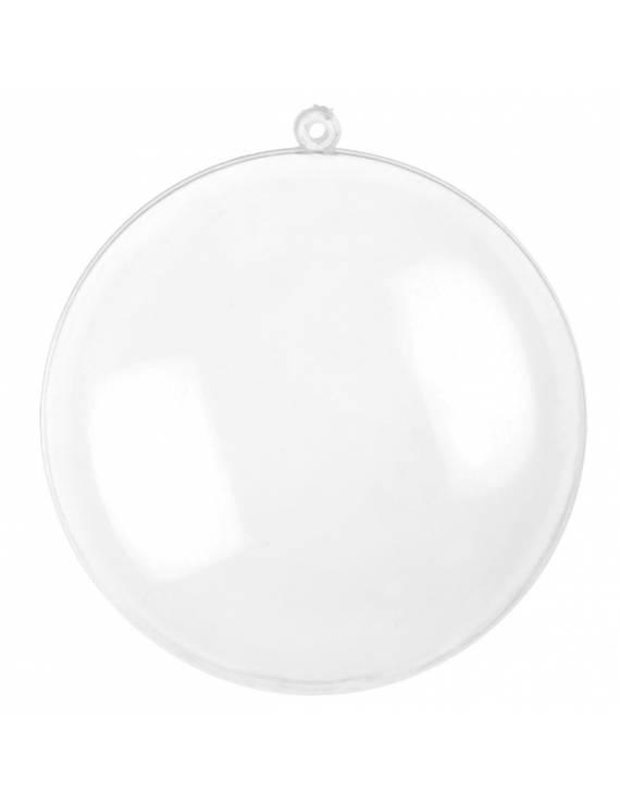 Médaillon plexi/plastique diam 7 cm