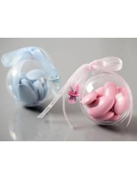 Boule plexi/plastique