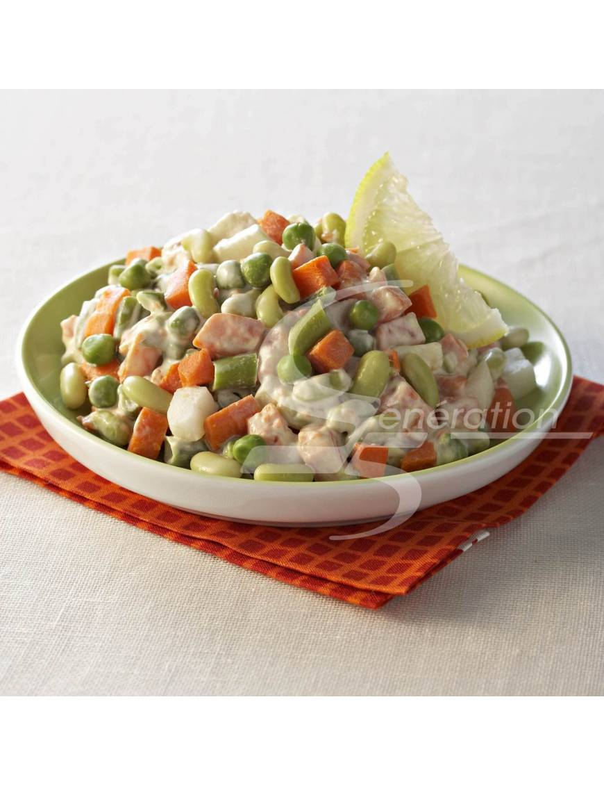 Macédoine aux 5 légumes