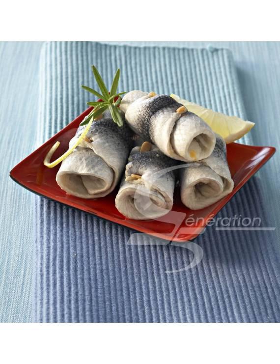 Rollmops aux oignons