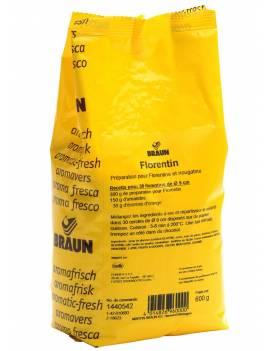 Préparation pour Florentins et Nougatine-Braun