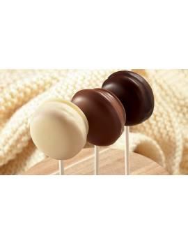 Chocolat de couverture au lait et au caramel  Lactée Caramel 31.1% Cacao Barry