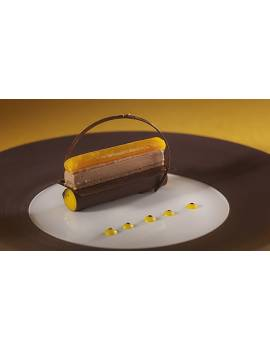Pailleté Feuilletine Brisures crêpes dentelles Cacao Barry 2.5 KG
