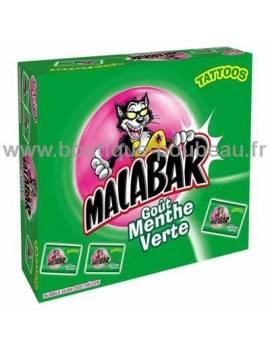 Malabar goût menthe verte 200 piéces