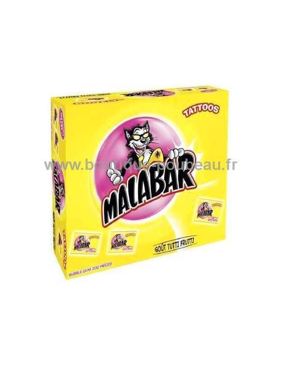 Malabar goût tutti frutti 200 piéces