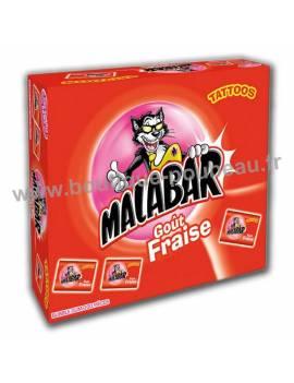 Malabar goût fraise 200 piéces