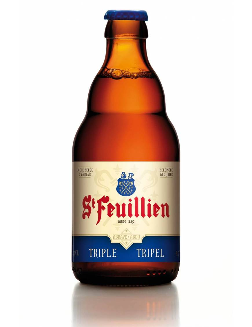 st feuillien triple biere belge oise
