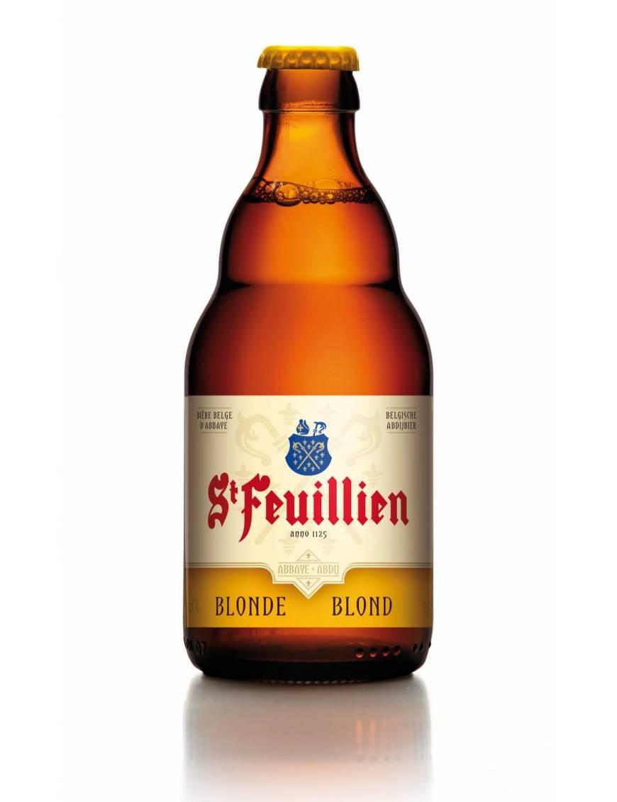 Saint feuillien blond biere belge oise