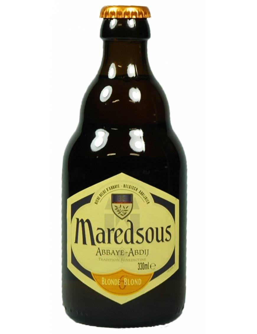 Maredsous 6 blonde biere belge d'abbaye