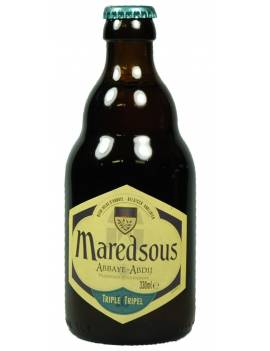 Maredsous 10 triple blonde biere belge d'abbaye