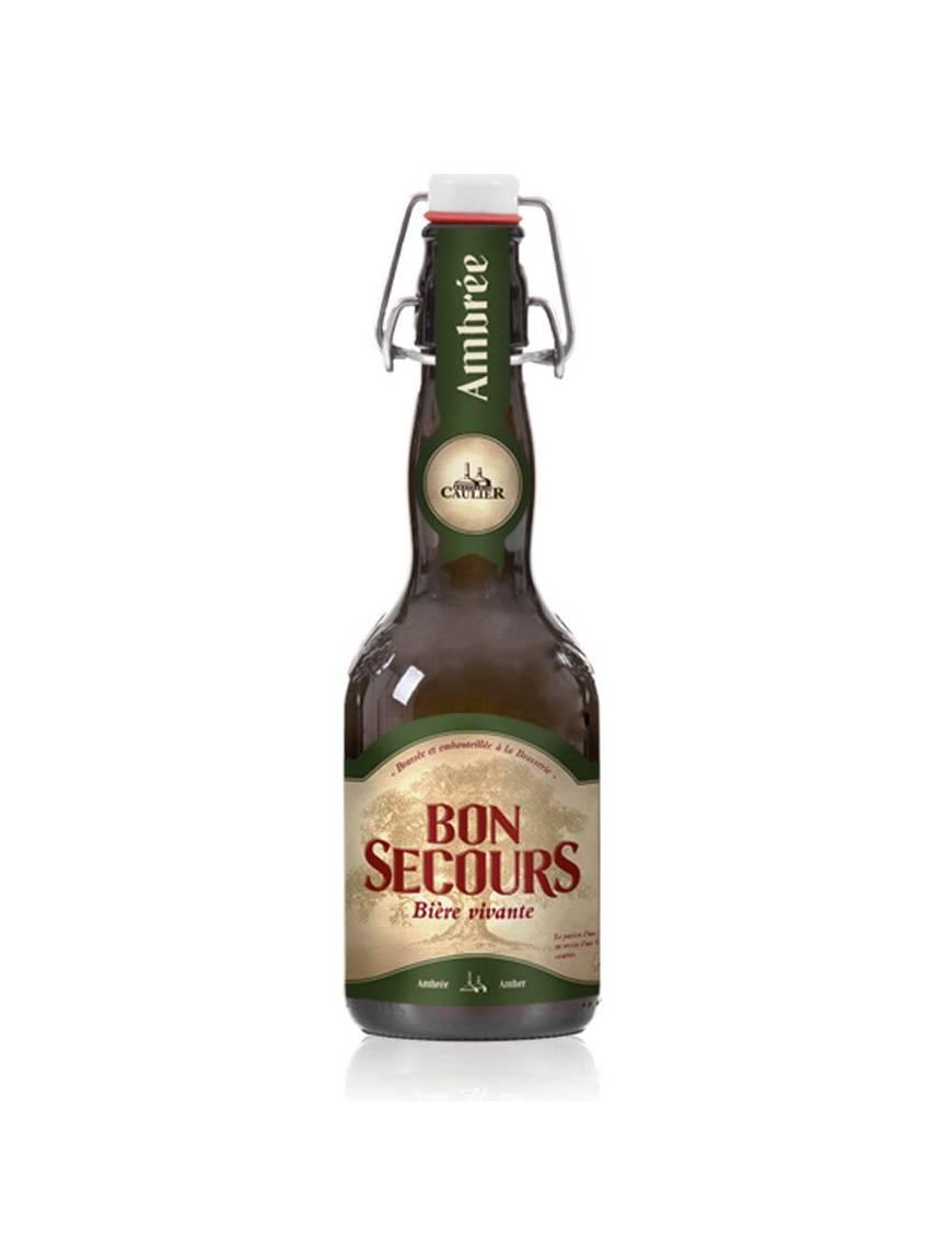 Bon secours ambree biere belge