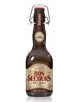Bon secours brune biere belge
