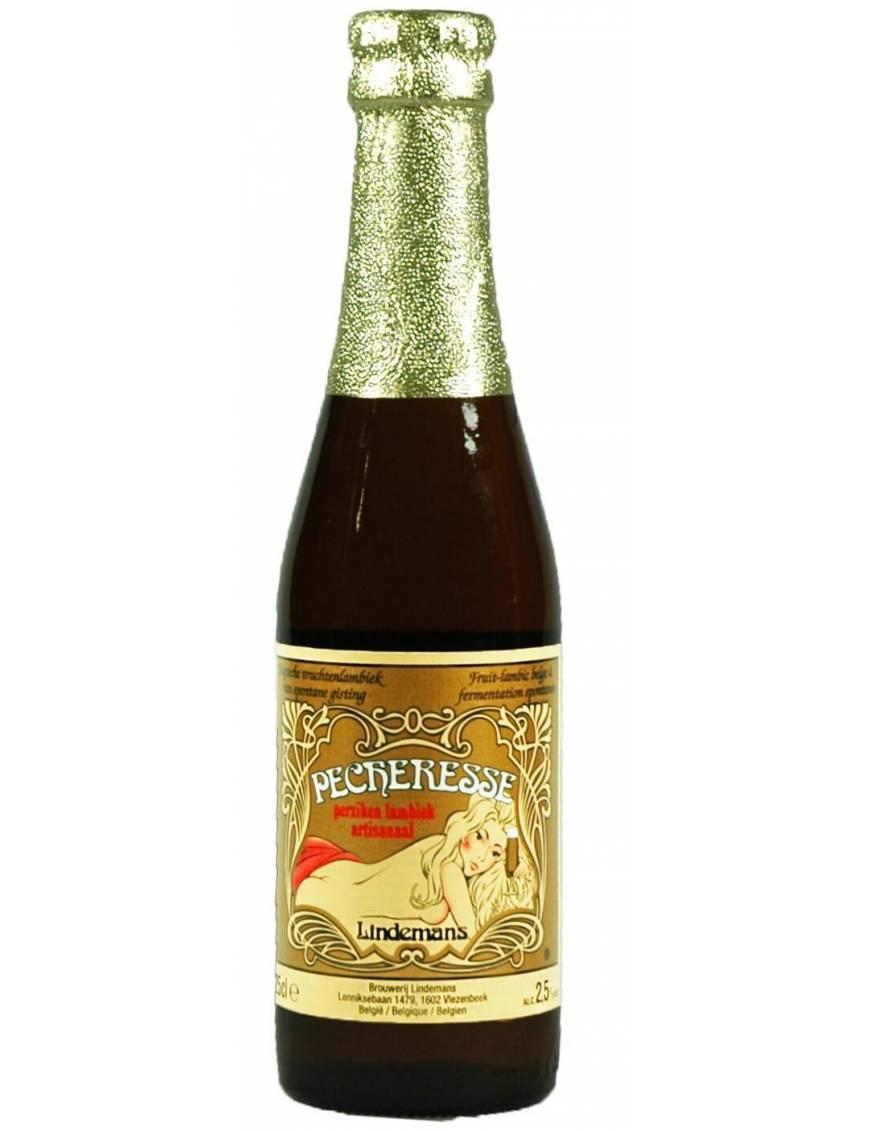 Lindemans la pecheresse biere belge oise