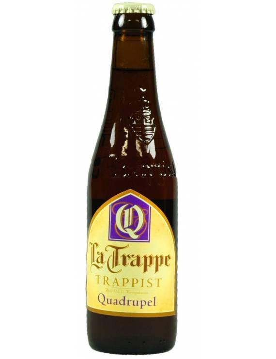 La Trappe quadruple quadrupel biere hollande