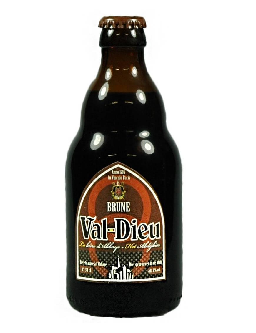 Val-Dieu Brune biere belge d'abbaye