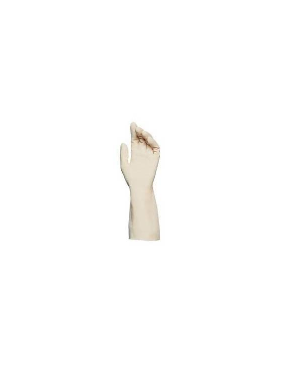 Gants fins en latex naturel poudrés