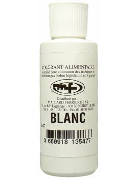 Colorant Alimentaire blanc