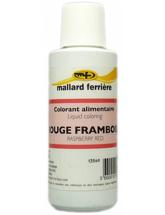 Colorants Alimentaire Rouge Framboise