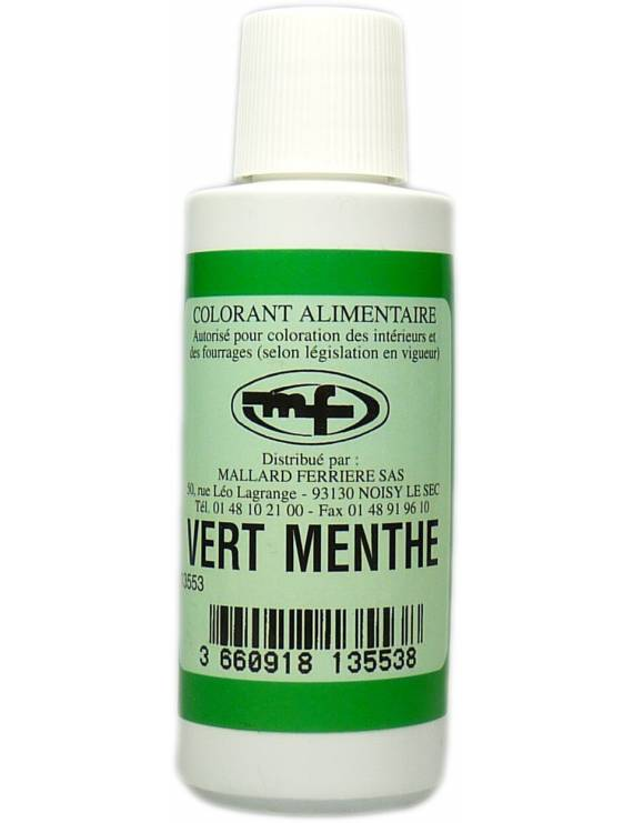 Colorant Alimentaire Vert menthe