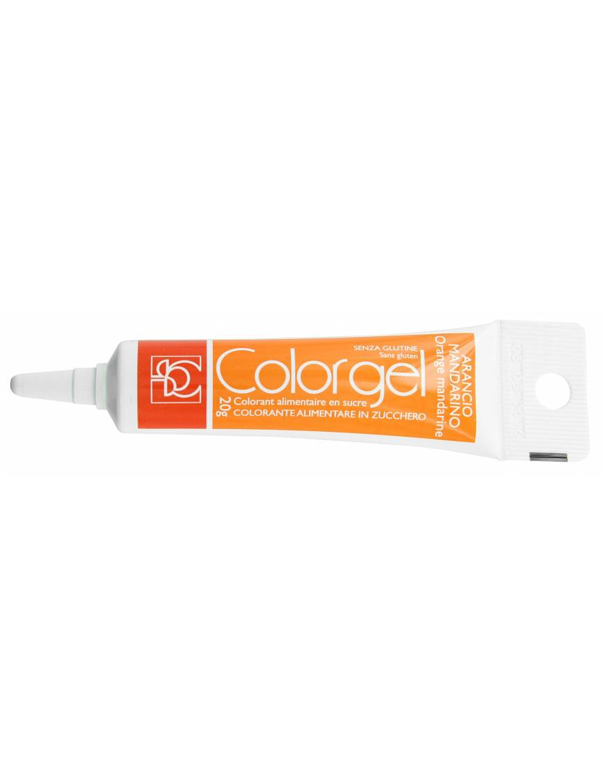 Tube Colorant Gel Orange 20g - Modecor