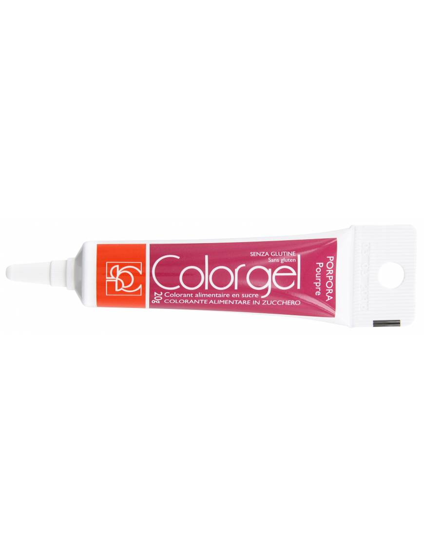 Tube Colorant Gel pourpre