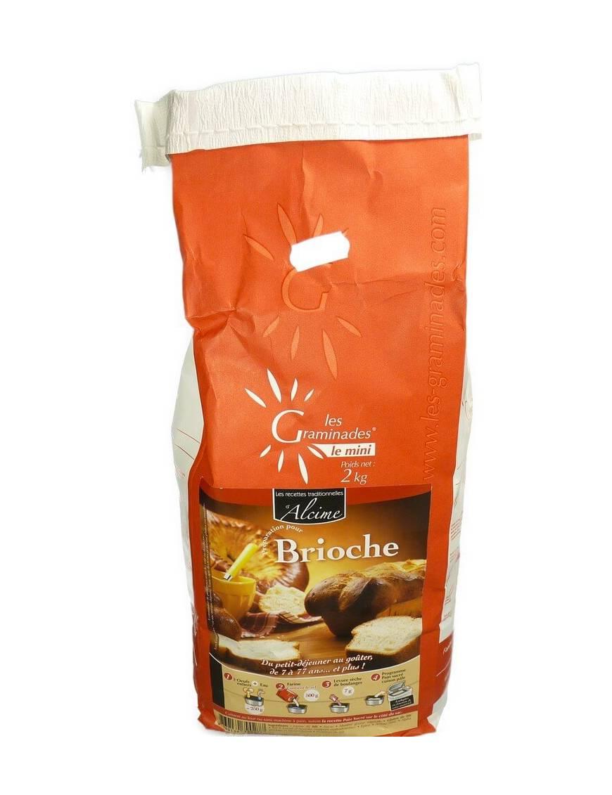 Les Graminades - Brioche (sac 2Kg)
