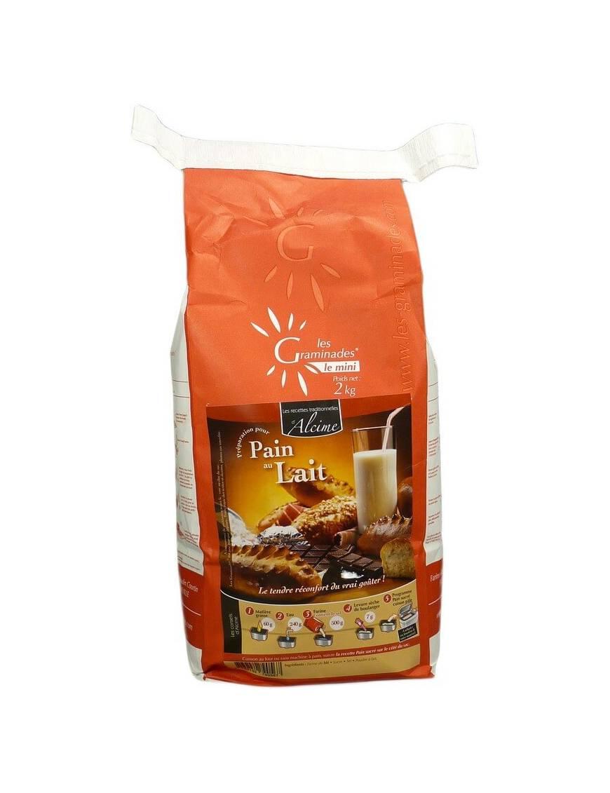 Les Graminades - Pain au lait (sac 2Kg)