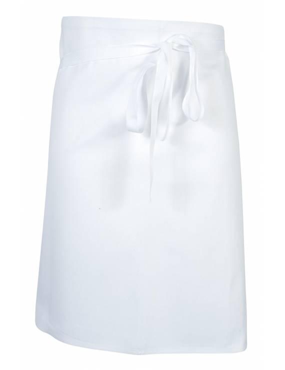 Tablier 1/2 Chef Phoenix Blanc