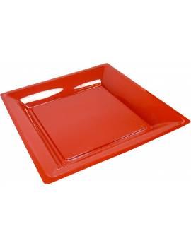 Assiette carrée 21,5cm x12