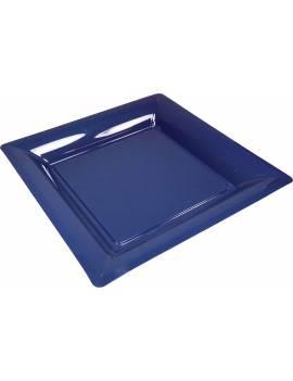 Assiette carrée 16,5cm x12