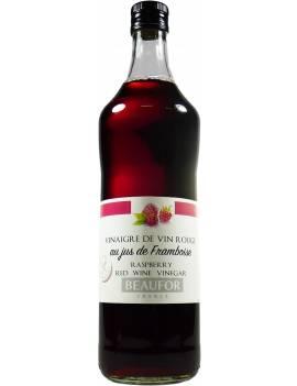 Vinaigre de vin au jus de Framboise - Bouteille de 1L