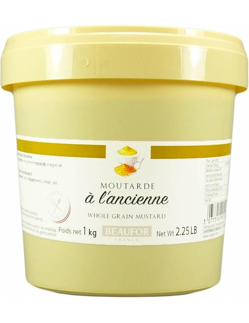 Moutarde à l'ancienne - Pot 1 kilo