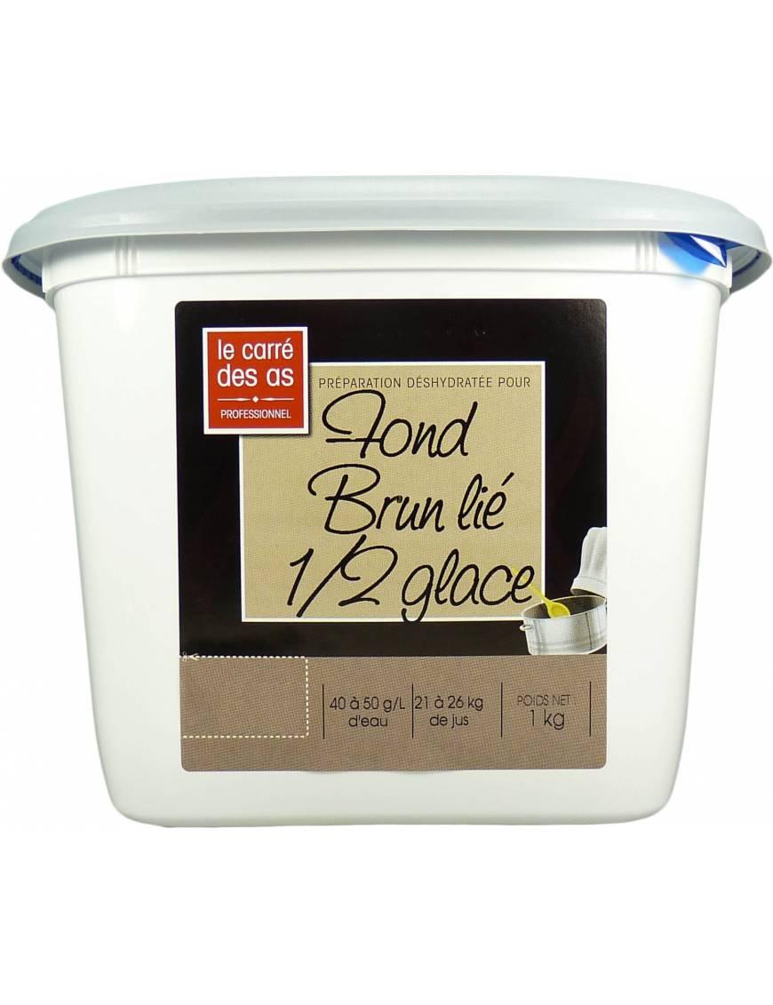 Fond Brun lié Demi-glace - 1kg