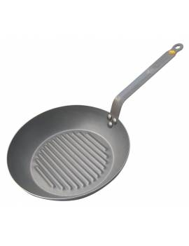Poêle ronde Grill MINERAL B ELEMENT - De Buyer