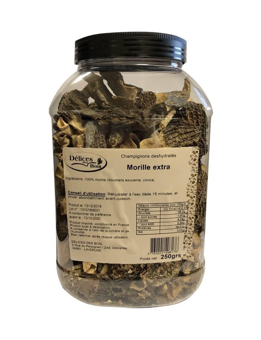 Morilles séchées - Boite de 250g