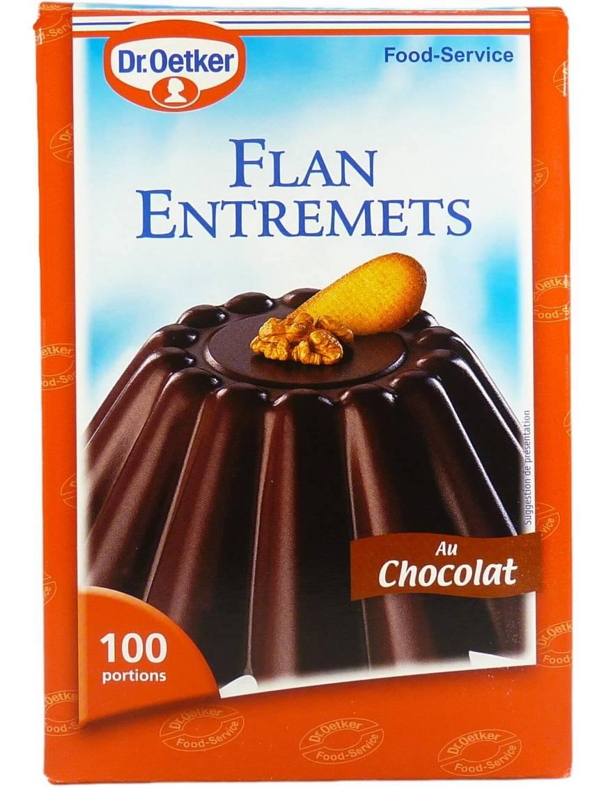 Préparations Flan Entremets Chocolat - 1,2kg (100 portions)