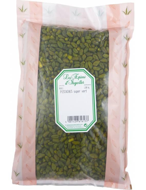 Pistaches extra vertes - Sachet 1 kg