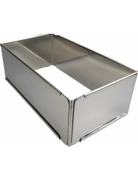 Rectangle inox extensible De Buyer max 40x21
