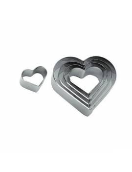Découpoir Inox Coeur uni de 10 cm