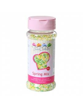 "Mini-Perle mix ""Printemps"" en sucre Tube de 80g"
