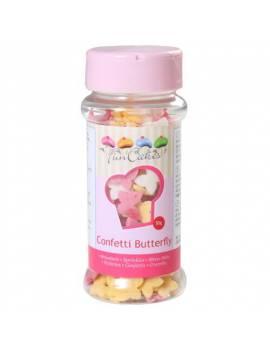 Confettis en sucre Mix Papillon Boite 50 g