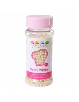 Perle de sucre nacrée Blanche Boite de 80 g